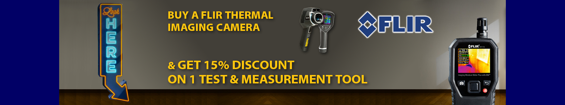 Flir Test Tools With Thermal